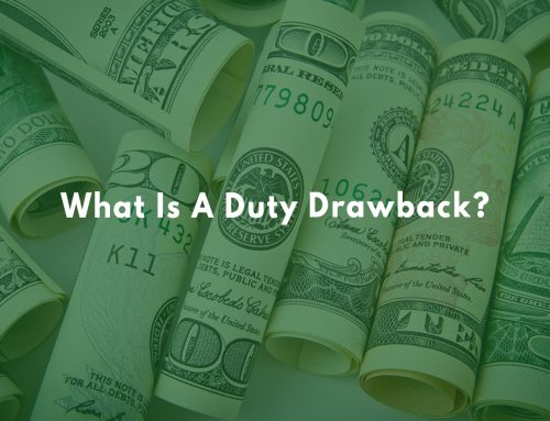 What Is A Duty Drawback?