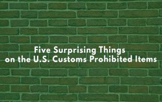 U.S. customs banned items