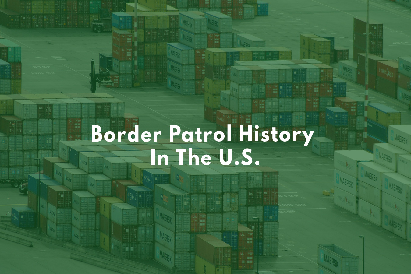 The U.S. customs service history is rich and long-lasting