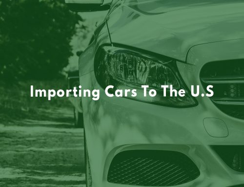 Importing Cars To The U.S.