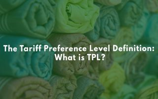 Importing clothes? Use TPL when you can